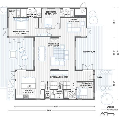 house plans with library chang e 3 bedrooms and home on pinterest