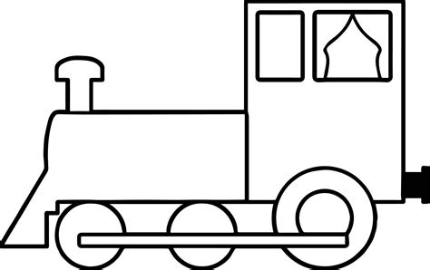 easy train coloring page simple train coloring page wecoloringpage