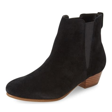 Comfortable Chelsea Boots by Black Vintage Boots Chelsea Boots Suede Toe Chunky