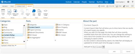 sharepoint online office blogs search innovations for site and portal design in