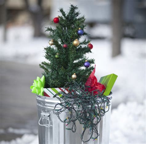 recycling your tree can be gift for the environment