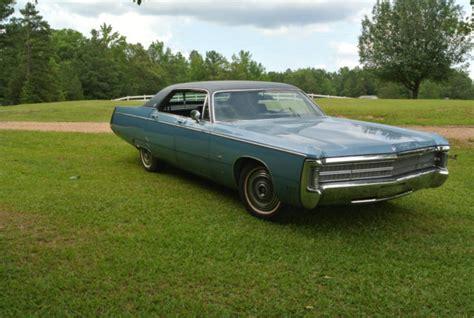 1969 Chrysler Imperial For Sale by 1969 Chrysler Imperial Lebaron 4 Door Hardtop For Sale
