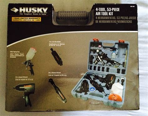 husky  tool  piece air tool kit ebay