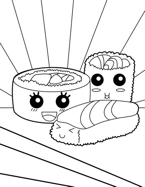 Coloring Page Food by Kawaii Coloring Pages Best Coloring Pages For