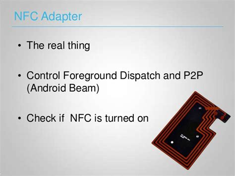 android beaming service nfc on android
