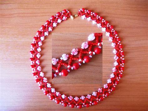 bead beautiful free pattern for beautiful beaded necklace desert