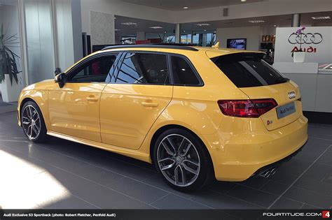 Audi S3 Exclusive by Audi Exclusive Imola Yellow S3 Sportback From Penfold