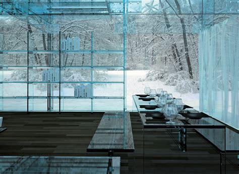 transparent glass house concept  beautiful houses