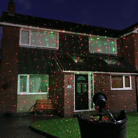 outdoor holiday laser light show lazer christmas lights christmas decorations outdoor