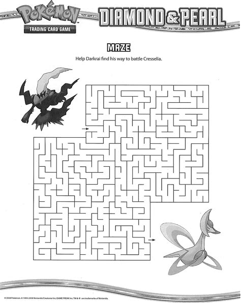printable pokemon activity sheets 4 best images of pokemon maze printable printable