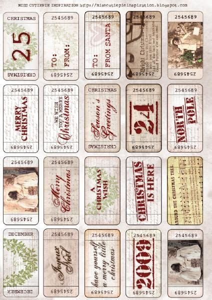 printable vintage tickets vintage tickets to use as gift tags or as tickets for a