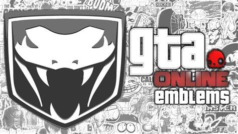 logo emblem gta gta v viper custom crew emblem tutorial grand theft auto 5 screetch2009