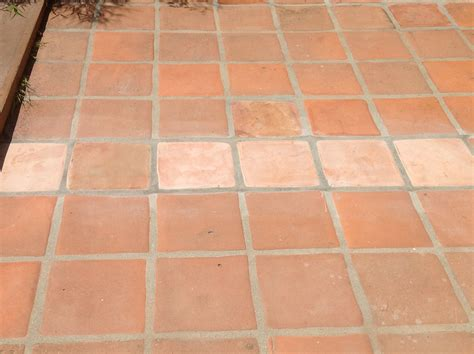 tiles photos before and after staining saltillo tile design indulgence