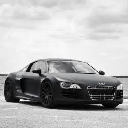 audi r8 spyder matte black wallpaper