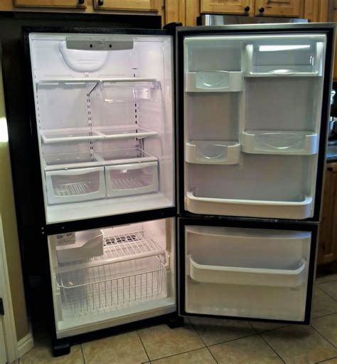 Can You Open A Refrigerator Door From The Inside by Real With The Maytag Bottom Freezer Refrigerator