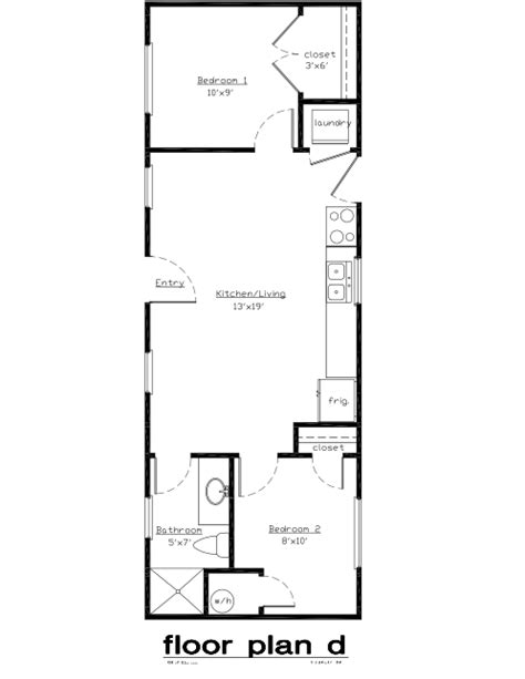 laundry room floor plan the white tail  model is a  x  cabin with two bedrooms a
