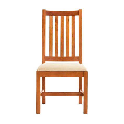 unfinished wood dining room chairs grand mission dining room chair natural cherry real solid