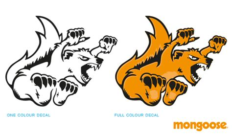 Kaos Mongoose Bike Graphic 1 new mongoose maurice headbadge on behance