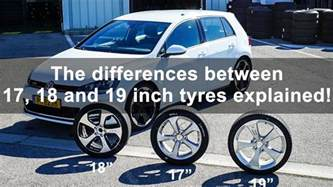 17 Inch Vs 18 Inch Wheels Truck Finding The Difference Between 17 18 And 19 Inch Tires