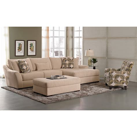 Call Value City Furniture by Orleans 2 Pc Sectional And Accent Chair