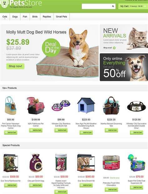 magento themes pet store magento themes pet store 14 cool ecommerce templates and