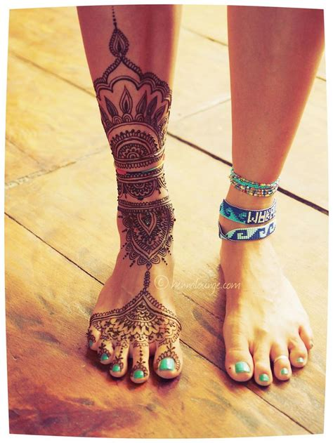 tattoo henna leg top 20 beautiful henna mehendi designs listovative
