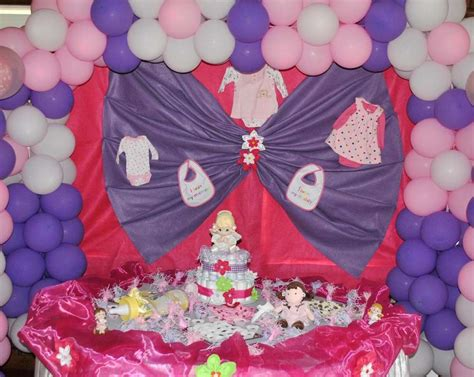 Pink And Purple Baby Shower Theme by Purple And Pink Baby Shower Ideas This Color Scheme
