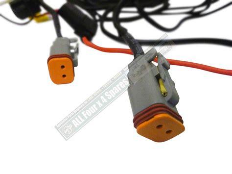 great whites 12v driving light wiring harness kit