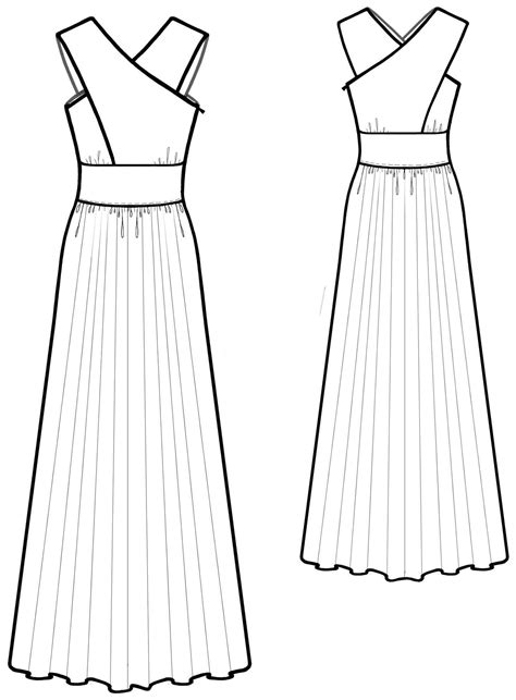 dress pattern on line dress sewing pattern 5584 made to measure sewing