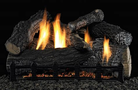 Gas Fireplace Logs With Remote by Wildwood Vent Free Gas Log Set Optional Remote 18