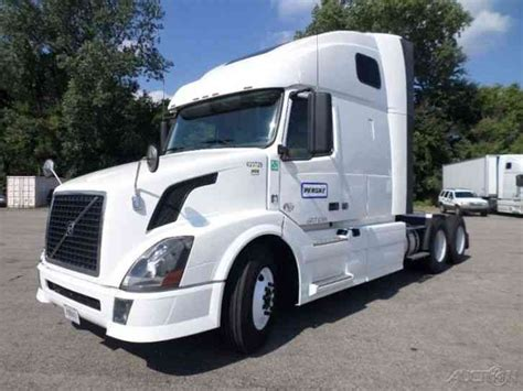 2012 volvo big volvo vnl64t670 2012 sleeper semi trucks