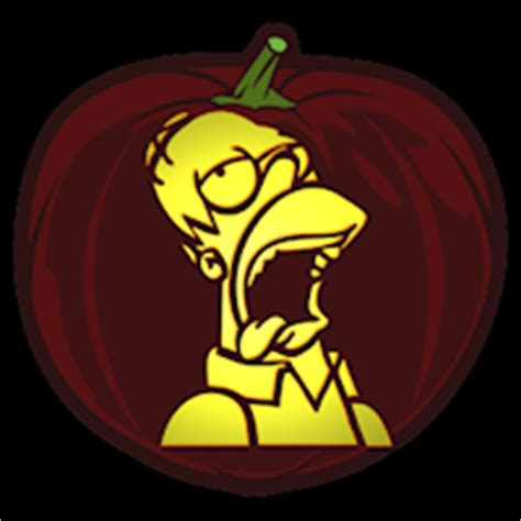 homer pumpkin template homer co stoneykins pumpkin carving patterns and