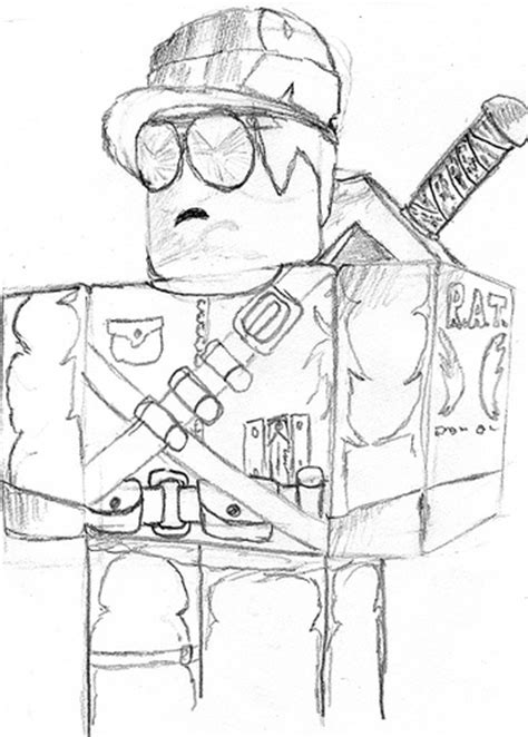 Sketches Roblox Account by Roblox Coloring Pages Coloring Pages