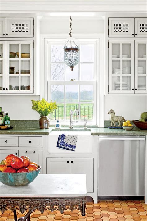 cottage kitchen furniture our best cottage kitchens southern living