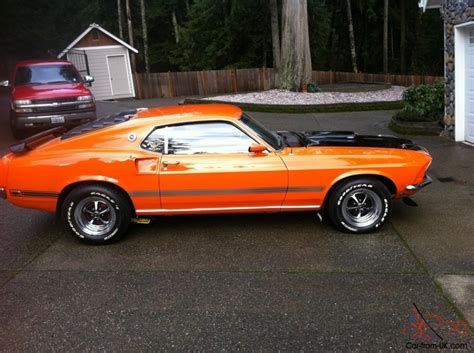 69 mustang fastback mach1