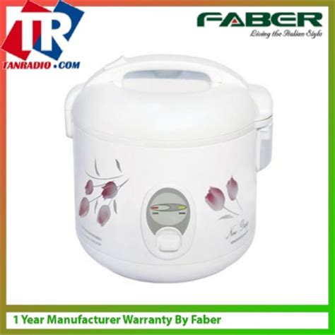 Rice Cooker Faber faber jar rice cooker 1 0l and flora design