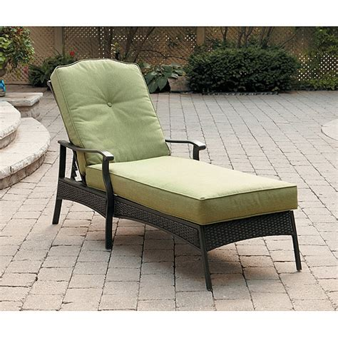 providence patio furniture providence chaise lounger green walmart