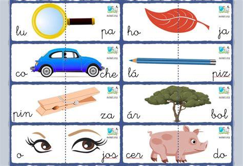 imagenes de palabras bisilabas conciencia fonol 243 gica reforzando la segmentaci 243 n sil 225 bica