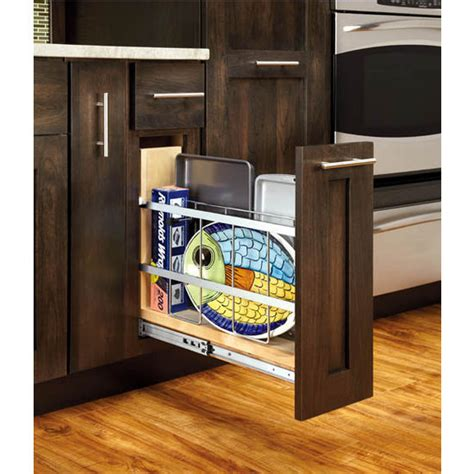 kitchen cabinet dividers kitchen base cabinet foil wrap holder tray divider