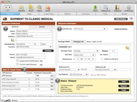 Ups Account Number Lookup Nrgship Pro For Ups Mac Shipping Software Tour Nrgship