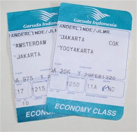 Voucher Tiket Amsterdam Tanggerang parts of airlines ticket all about business information