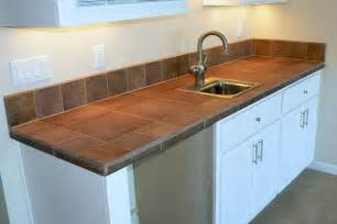 Tile Countertops Kitchen S Decorating Corner Affordable Kitchen Updates