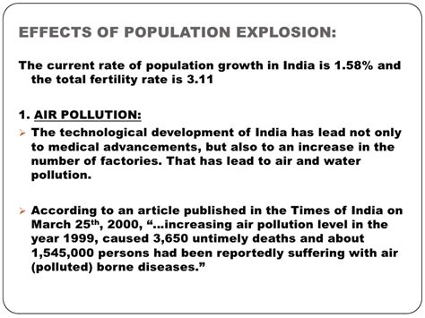 Population Explosion In India Essay Pdf by Human Population Explosion