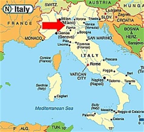 piacenza italy map big 4 albania