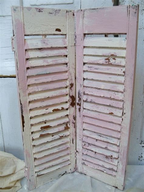 chalk painted shutters windows shudders pinterest repurposed shutters vintage shutters