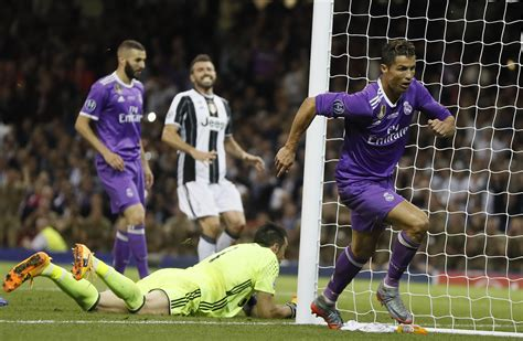 ronaldo vs juventus 2005 highlights chions league cristiano ronaldo guides real madrid to title with 4 1 win