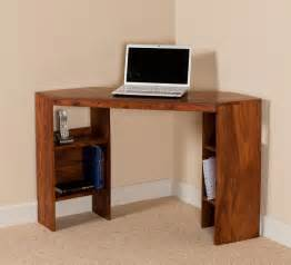 Small Oak Corner Computer Desk Uk Small Computer Desk Corner Unit Sheesham Wood Casa