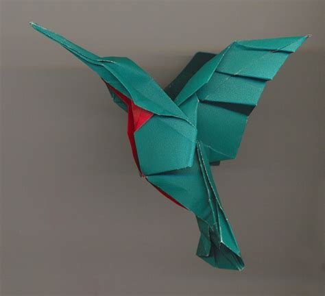 Hummingbird Origami - origami hummingbird pictures freaking news