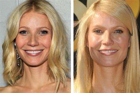 gwyneth paltrow denies having had botox or plastic surgery