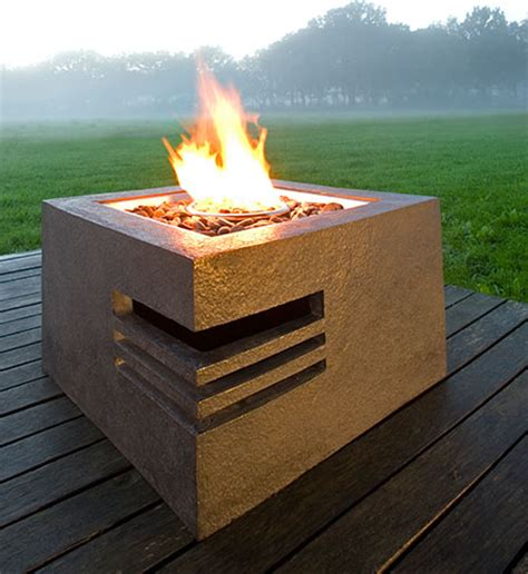 Gas Fire Pits For Contemporary Homes Contemporary Firepit